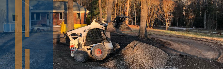 Stratton Landscaping and Tree Removal Light Grading